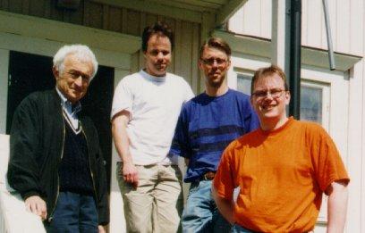 Ludwik, Jan, Fredrik and Pär-Ola